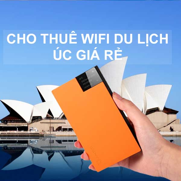 Thuê wifi đi Úc